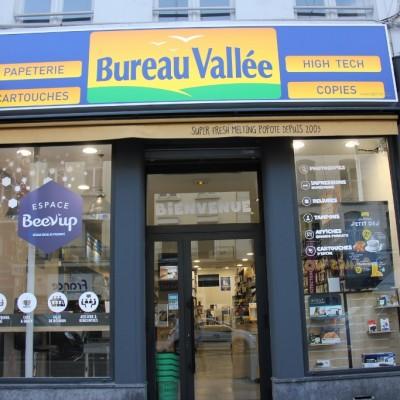 Bureau Vallée – Accompagnement à la création du concept Beev'up