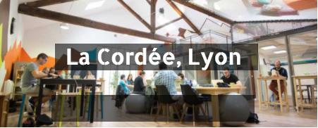 La Cordée coworking à Lyon, Paris, Nantes et Rennes