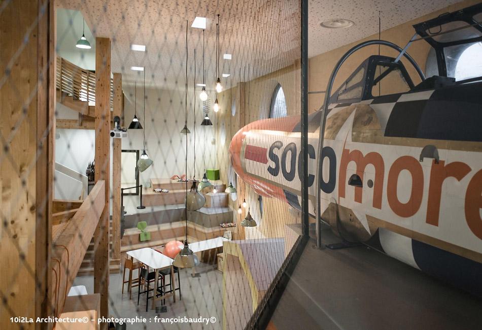Nouveaux bureaux de Socmore