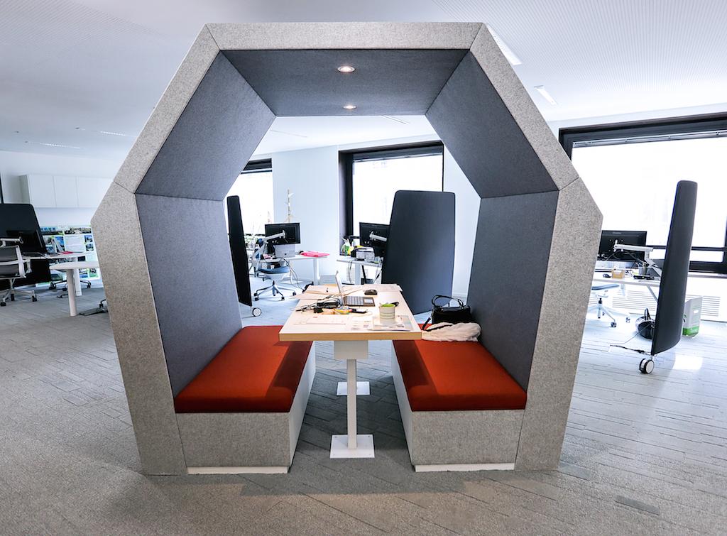 Gecina nouveaux bureaux