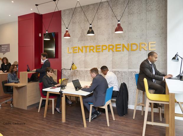 L'Entreprendre-création d'espace de coworking