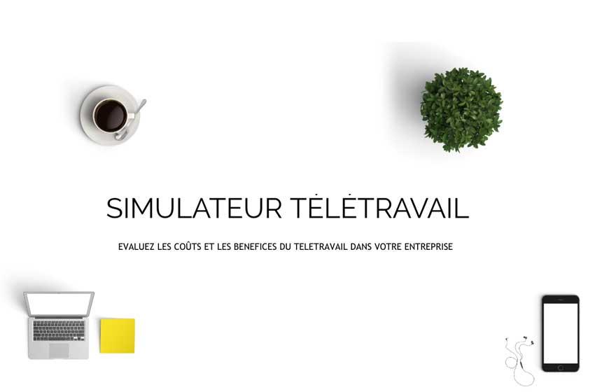 simulateur télétravail
