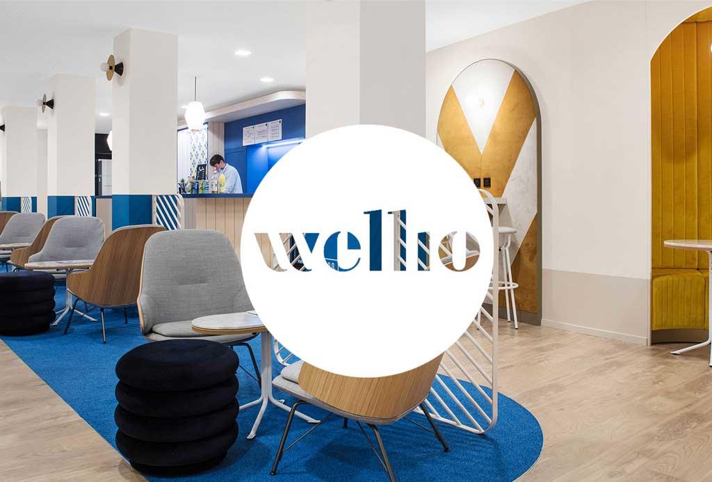 Wellio réseau de coworking