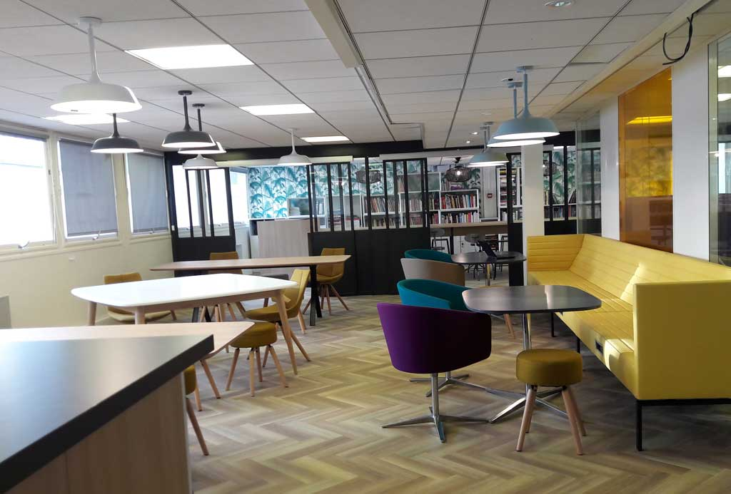 Nouveaux bureaux Uni-medias